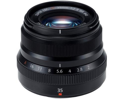 Objectif hybride Fujifilm Fujinon XF 35mm f2 R WR B Noir