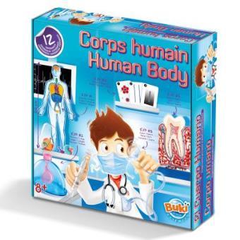 coffret scientifique le corps humain en 12 exp riences buki france jeux scientifiques achat. Black Bedroom Furniture Sets. Home Design Ideas