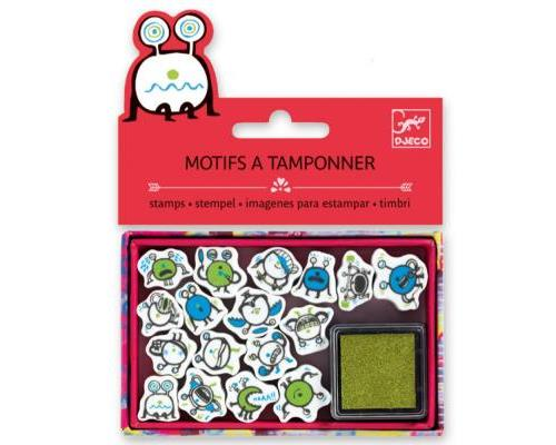 Mini tampons : Emoticones Djeco