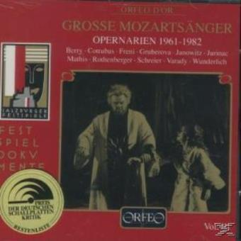 Opera Arias 1961-1982