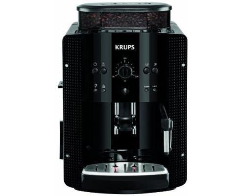 Expresso avec broyeur Full Auto Krups Essential EA810870 1450 W Noir pour café en grain