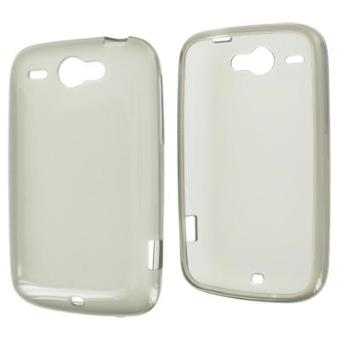 MODELABS SILICONE BROWN TRANSPARENT FOR S-5660 GALAXY GIO-
