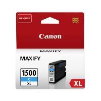 PGI-1500XL C - À rendement élevé - cyan - original - réservoir d'encre - pour MAXIFY MB2050, MB2350