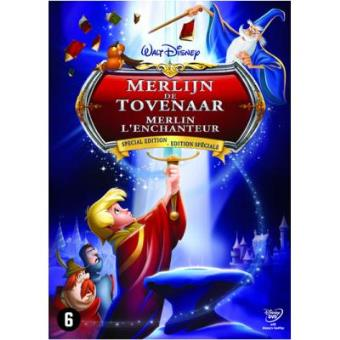 Disney ClassicsMERLIJN DE TOVENAAR-MERLIN L ENCHANTEUR-ED SP-BILINGUE