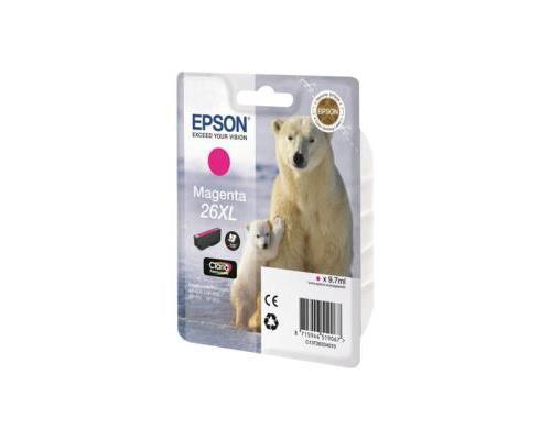 Epson 26XL taille XL magenta original cartouche d´encre