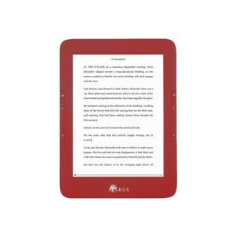 ICARUS  E-READER ILLUMINA 6I  RED