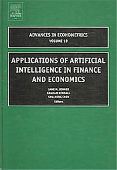 Applications of Artificial Intelligence in Finance and Economics, ADVANCES IN ECONOMETRICS