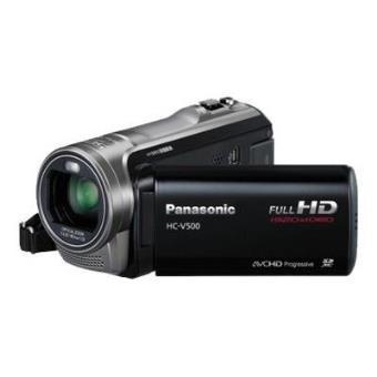 Panasonic HC-V500 - caméscope - stockage : carte Flash