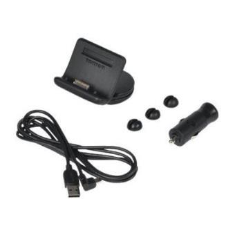 official site designer fashion details for TomTom Powered dashboard mount - Support de chargeur de voiture pour  récepteur GPS