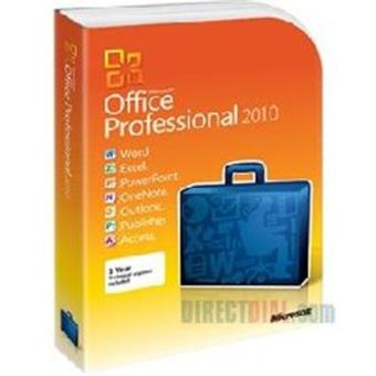 MICROSOFT OFFICE PRO 2010 UK PC ATTACH MICROCASE