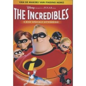 INCREDIBLES-INDESTRUCTIBLES-2 DVD-VN