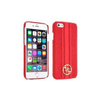 coque iphone 6 rouge et or