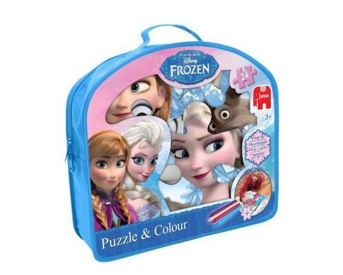 Disney - La Reine des Neiges - Puzzle à Colorier - 24 Pièces