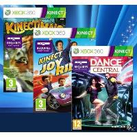 Pack 3 Soft KINECT (Dance Central + Kinect Joy Ride + Kinectimals )