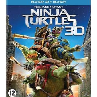 TEENAGE MUTANT NINJA TURTLES-3D-NL FR-2 DISC