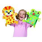 Marionnettes - Coffret de création de marionnettes en papier