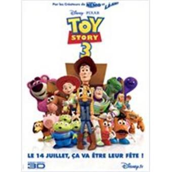 Toy Story 3 Bluray Box