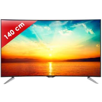 tv led plus 52 pouces panasonic tx 55cr430e ecran incurv 55 pouces 140 cm uhd 4k 400 hz 3d. Black Bedroom Furniture Sets. Home Design Ideas