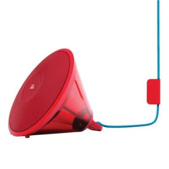 enceinte portable transparente 2x7 watts bluetooth jbl spark rouge mini enceinte achat. Black Bedroom Furniture Sets. Home Design Ideas