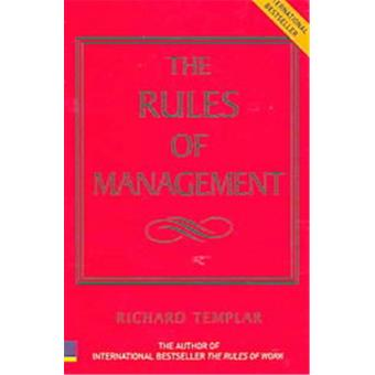 RULES OF MANAGEMENT THE DEFINITIVE