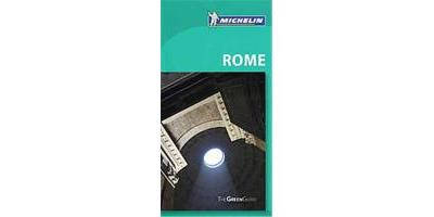 Michelin Green Guide Rome, MICHELIN GREEN GUIDE: ROME ENGLISH EDITION