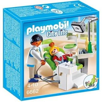 Playmobil City Life 6662 Cabinet de dentiste