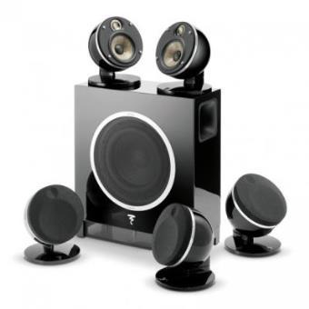 Pack Amplificateur et Enceintes Focal Dome Flax + Sub Air B Noir