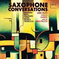 Saxophone conversations/oeuvres pour saxophone