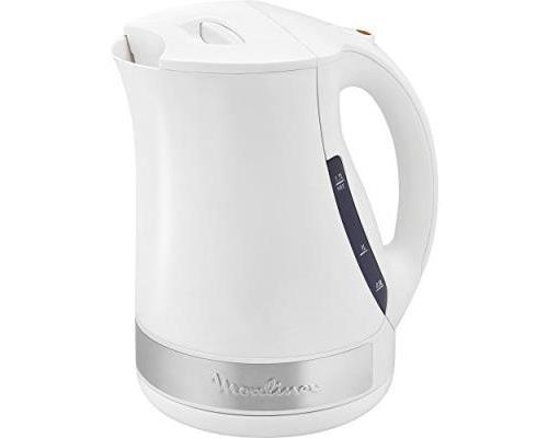 Moulinex by108110 principio plus bouilloire plastique blanc inox 20,5 x 17 x 24 cm 1,7 l