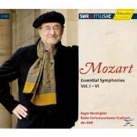 Mozart: Essential Symphonies, Vol. 1-6 [Box Set]