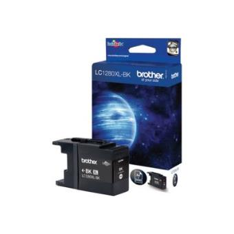BROTHER LC-1280XLBK BLACK INK (2.400 PAGES)-