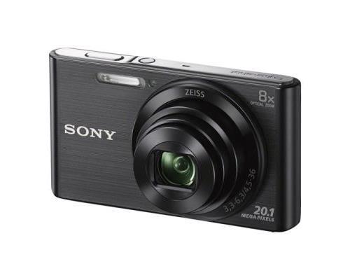 Sony Cybershot DSC-W830 - Zwart