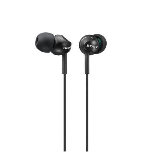 Sony MDR-EX110 Auriculares Negro