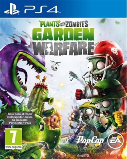 Plants Vs Zombies Garden Warfare Ps4 Para Los Mejores