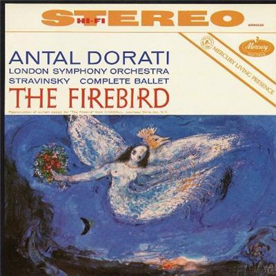 Pájaro de fuego de Stravinsky / consagración de la primavera Stravinsky-The-Firebird-Edicion-Vinilo