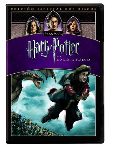 Harry Potter y el cáliz de fuego (Ed. especial) - DVD - Mike Newell ...