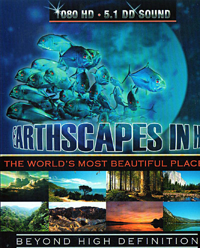 Earthscapes In HD (Formato Blu-Ray)