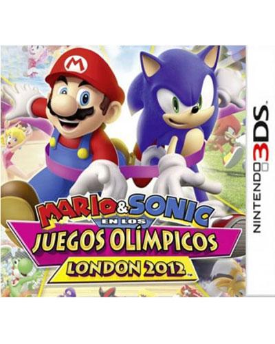 Mario Sonic En Los Juegos Olimpicos London 2012 Nintendo 3ds Para