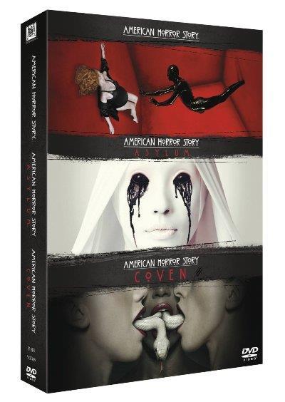 Pack American Horror Story (Temporadas 1 - 3) - DVD