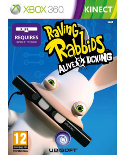 Rabbids Vivitos Okupando El Salon Kinect Xbox 360 Para Los