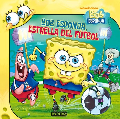 Bob Esponja Estrella Del Fútbol