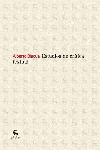 Estudio de crítica textual
