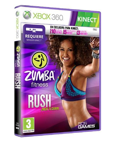 Zumba Fitness Rush Kinect Xbox 360 Para Los Mejores Videojuegos Fnac
