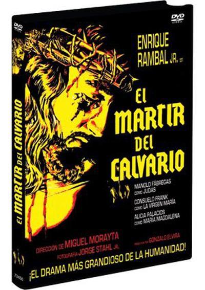 MARTIR DEL CALVARIO, EL. DVD. NUEVO. Nacional URGENTE/Internac. económico