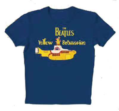 f2d895353 Camiseta Beatles Yellow Submarine - Talla niño 7 9 años - Merchandising  Música