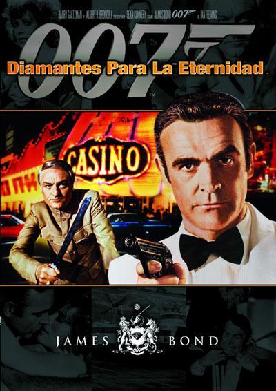 007: Diamantes para la eternidad  - DVD