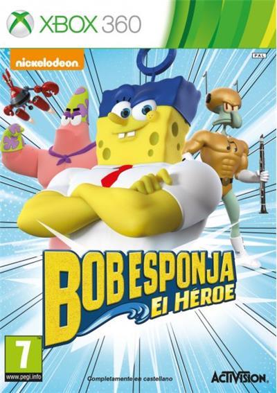 Bob Esponja El Hroe Xbox 360 para  Los mejores videojuegos
