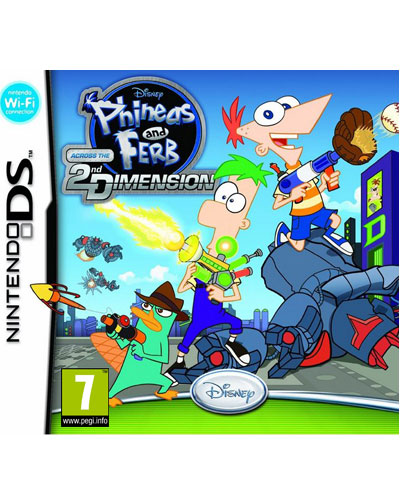 Phineas Y Ferb A Traves De La Segunda Dimension Nintendo Ds Para