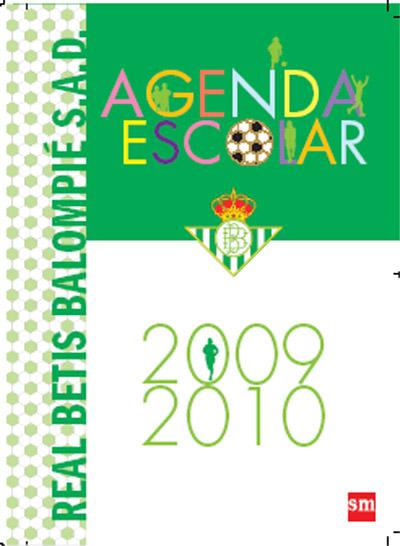 Betis C.F. Agenda escolar 09/10