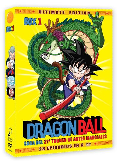 Dragon Ball: Saga del 21 Torneo de artes marciales (Volumen 1) - DVD
